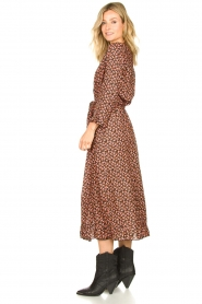 Lolly's Laundry |  Printed maxi dress Harper | black  | Picture 5