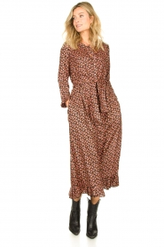 Lolly's Laundry |  Printed maxi dress Harper | black  | Picture 3