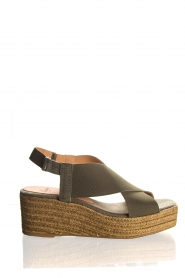 Castaner | Sandals Quila | green  | Picture 1
