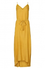 Lolly's Laundry |  Sleeveless maxi dress Beatrice | yellow  | Picture 1