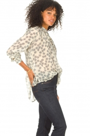 Lolly's Laundry    Blouse with floral print Lari   creme    Picture 5