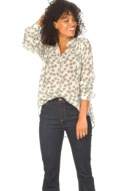 Lolly's Laundry    Blouse with floral print Lari   creme    Picture 4