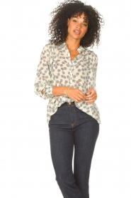 Lolly's Laundry    Blouse with floral print Lari   creme    Picture 2