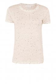 IRO | Linnen T-shirt Trudie | wit  | Afbeelding 1