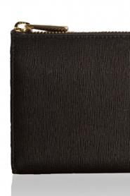Furla | Leren portemonnee Babylon | zwart  | Afbeelding 5