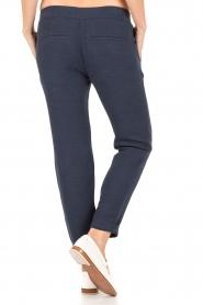 Sessun | Losvallende pantalon Healt | donkerblauw  | Afbeelding 5
