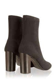 What For |  Peep toes ankle boots Victor | black   | Picture 5