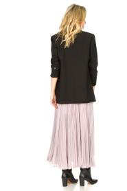 Patrizia Pepe |  Plisse maxi dress Stella | pink  | Picture 6