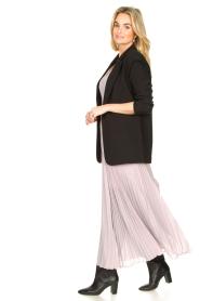Patrizia Pepe |  Plisse maxi dress Stella | pink  | Picture 5