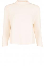 Sessun |  Knitted sweater Mella | off-white  | Picture 1