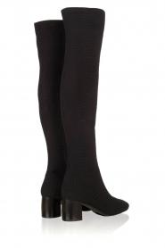 What For | Over-the-knee laars Albana | zwart  | Afbeelding 4