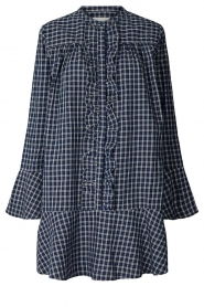 Lolly's Laundry    Checkered dress Haddy   blue    Picture 1