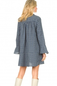 Lolly's Laundry    Checkered dress Haddy   blue    Picture 7