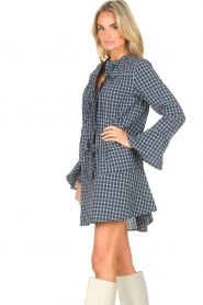 Lolly's Laundry    Checkered dress Haddy   blue    Picture 6