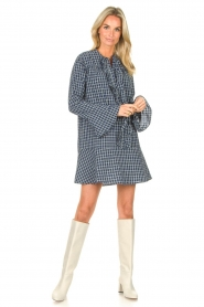 Lolly's Laundry    Checkered dress Haddy   blue    Picture 4
