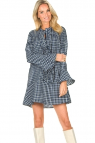 Lolly's Laundry    Checkered dress Haddy   blue    Picture 2