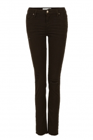 IRO | Skinny jeans Jarod lengtemaat 30 | zwart  | Afbeelding 1