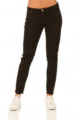 IRO | Skinny jeans Jarod lengtemaat 30 | zwart  | Afbeelding 2