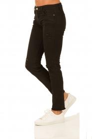 IRO | Skinny jeans Jarod lengtemaat 30 | zwart  | Afbeelding 4