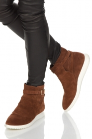 What For |  Suede ankle boots Mona | brown  | Picture 2