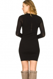 Patrizia Pepe |  Knitted dress Joanne | black  | Picture 6