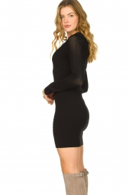Patrizia Pepe |  Knitted dress Joanne | black  | Picture 5