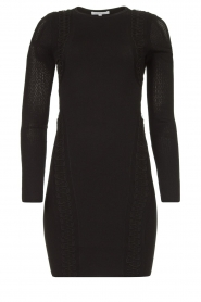 Patrizia Pepe |  Knitted dress Joanne | black  | Picture 1