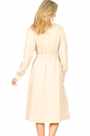 Lolly's Laundry |  Midi dress with pockets Karlo | creme  | Picture 6