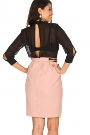 ELISABETTA FRANCHI |  Dress Keiki | Black   | Picture 6