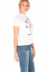 Zoe Karssen | T-shirt Lover | wit  | Afbeelding 3