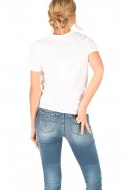 Zoe Karssen | T-shirt Lover | wit  | Afbeelding 4
