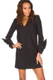 ELISABETTA FRANCHI | Chique jurk Vitalia | zwart  | Afbeelding 2