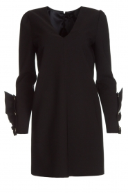 ELISABETTA FRANCHI | Chique jurk Vitalia | zwart  | Afbeelding 1