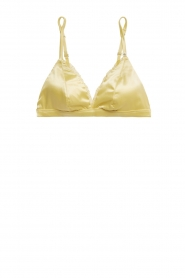 Love Stories |  Satin bralette Darling | yellow  | Picture 1