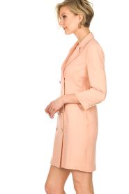 ELISABETTA FRANCHI | Blazer jurk Leonora | oudroze  | Afbeelding 4