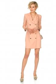 ELISABETTA FRANCHI | Blazer jurk Leonora | oudroze  | Afbeelding 3