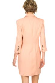 ELISABETTA FRANCHI | Blazer jurk Leonora | oudroze  | Afbeelding 5