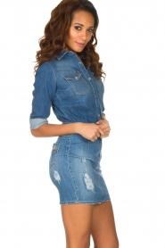 ELISABETTA FRANCHI | Spijkerjurk Rossella | blauw  | Afbeelding 4