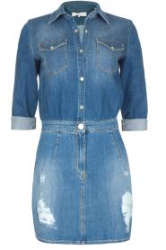 ELISABETTA FRANCHI | Spijkerjurk Rossella | blauw  | Afbeelding 1