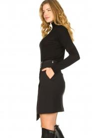 Patrizia Pepe |  Wrap skirt Lovi | black  | Picture 4