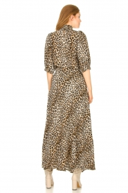 Lolly's Laundry |  Maxi skirt with animal print Mio | brown  | Picture 6