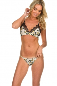 Love Stories |  Briefs with print Rosie Lemon | white  | Picture 2