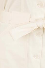 Sessun | Mouwloze jurk Sand Castle | creme  | Afbeelding 6