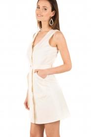 Sessun | Mouwloze jurk Sand Castle | creme  | Afbeelding 4