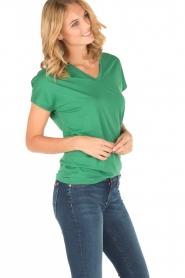 Zoe Karssen | T-shirt Here me roar | groen  | Afbeelding 3