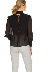 ELISABETTA FRANCHI |  Blouse with bow Sorella | Black  | Picture 5