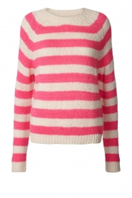 Lolly's Laundry |  Knitted sweater Jobel | pink  | Picture 1