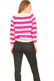 Lolly's Laundry |  Knitted sweater Jobel | pink  | Picture 7