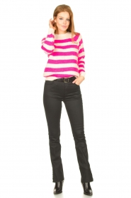 Lolly's Laundry |  Knitted sweater Jobel | pink  | Picture 3