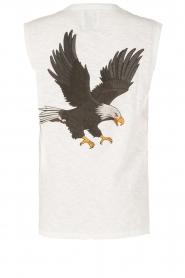 Zoe Karssen | Mouwloos shirt Adelaar  | wit Sleeveless shirt Eagle | white  | Afbeelding 5